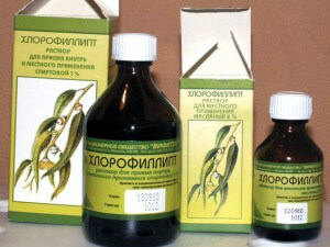 Формы препарата Хлорофиллипт