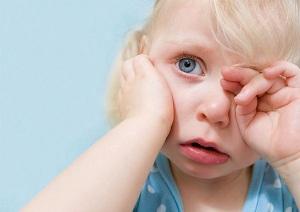 Воспаление среднего уха у детей