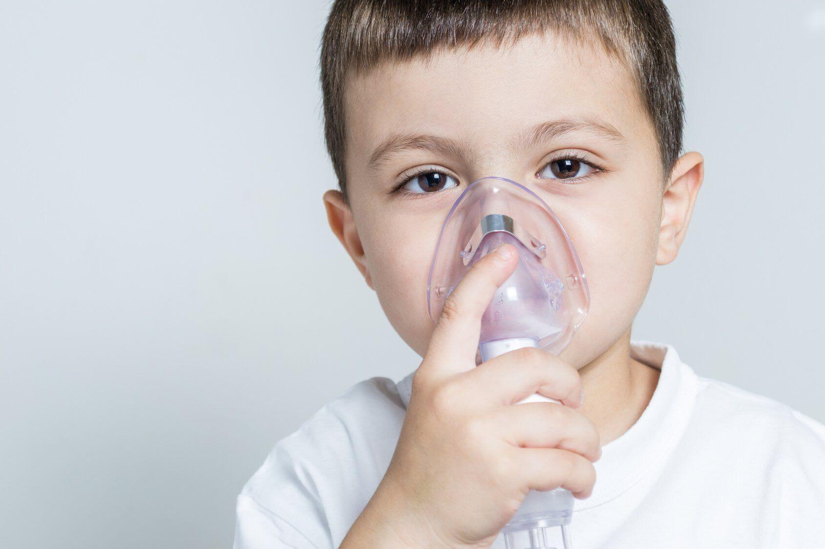 Маска для инъекций для ребенка